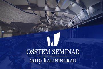 Osstem Seminar Kaliningrad 2019